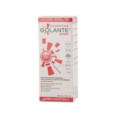 Solante SOLANTE Acnes SPF 50+ Losyon 150 ml Renksiz